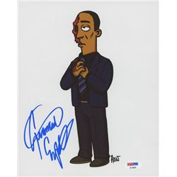 "Giancarlo Esposito Signed ""The Simpsons"" 8x10 Photo (PSA COA)"