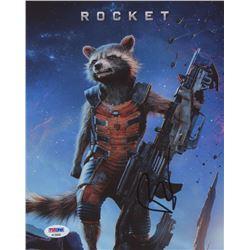 "Bradley Cooper Signed ""Guardians of the Galaxy"" 8x10 Photo (PSA COA)"