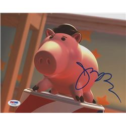 "John Ratzenberger Signed ""Toy Story"" 8x10 Photo (PSA COA)"