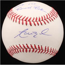 "Aaron Nola Signed OML Baseball Inscribed ""2019 1st Round Pick"" (JSA COA)"