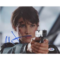 "Cobie Smulders Signed ""The Avengers"" 8x10 Photo (PSA COA)"