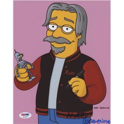 Matt Groening Signed 8x10 Photo (PSA COA)