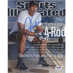 Alex Rodriguez Signed 8x10 Photo (PSA COA)