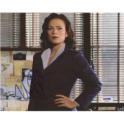"Hayley Atwell Signed ""Agent Carter"" 8x10 Photo (PSA COA)"