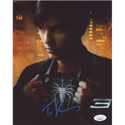 "Tobey Maguire Signed ""Spider-Man 3"" 8x10 Photo (JSA COA)"