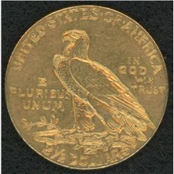 1908 Indiand Head $2.50 Gold Coin