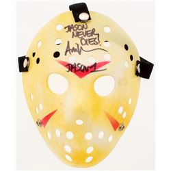 "Ari Lehman Signed ""Friday the 13th"" Jason Voorhees Mask Inscribed ""Jason Never Dies!""  ""Jason 1"" (PA"