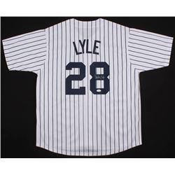Sparky Lyle Signed New York Yankees Jersey (JSA COA)
