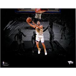 "Klay Thompson Signed Golden State Warriors 11x14 ""Lay Up Spotlight"" Photo (Fanatics Hologram)"