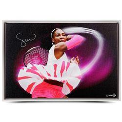 "Serena Williams Signed ""Pioneer"" 20x30 Limited Edition Photo on Canvas (UDA COA)"