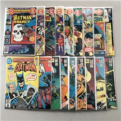 """Lot of (18) 1937 """"Detective Comics"""" 1st Series DC Comic Books from #481-510"""