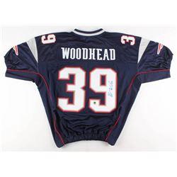 "Danny Woodhead Signed New England Patriots ""Super Bowl XLII"" Jersey (Woodhead COA)"
