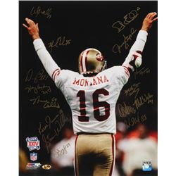 1989 San Francisco 49ers Super Bowl XXIV 16x20 Photo Team-Signed by (15) With Don Griffin, Jesse Sap