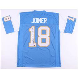 "Charlie Joiner Signed San Diego Chargers Jersey Inscribed ""HOF 96"" (Schwartz COA)"