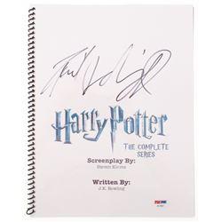 "Daniel Radcliffe Signed ""Harry Potter: The Complete Series"" Script (PSA Hologram)"