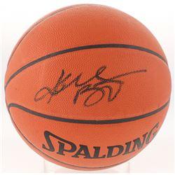 Kobe Bryant Signed NBA Basketball (PSA Hologram)