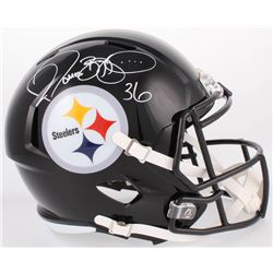 Jerome Bettis Signed Pittsburgh Steelers Full-Size Speed Helmet (JSA COA)