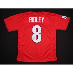 Riley Ridley Signed Georgia Bulldogs Jersey (JSA COA)