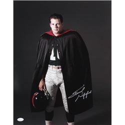 Frank Gifford Signed New York Giants 16x20 Photo (JSA COA)