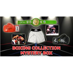 Boxing Collection Mystery Box - Series 1 (Limited to 75) (3 Boxing Autographs Per Box)