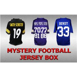 Schwartz Sports Football Superstar Signed Mystery Box Football Jersey Series 16 - (Limited to 100)