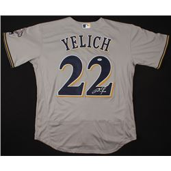 Christian Yelich Signed Milwuakee Brewers Jersey (PSA COA)
