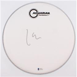 "Lars Ulrich Signed 10.5"" Drumhead (Beckett COA)"