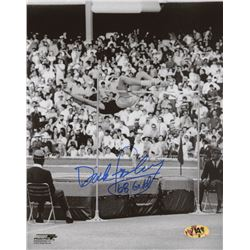 "Dick Fosbury Signed Team USA 8x10 Photo Inscribed ""68 Gold"" (MAB Hologram)"