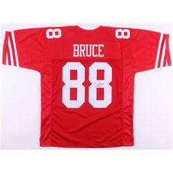 Isaac Bruce Signed San Francisco 49ers Jersey (JSA COA)