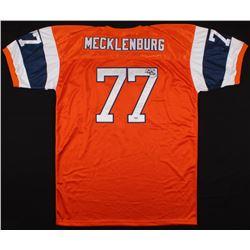 Karl Mecklenburg Signed Denver Broncos Jersey (PSA COA)