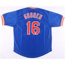 "Dwight Gooden Signed New York Mets Jersey Inscribed ""85 Triple Crown"" (JSA COA)"