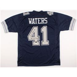 """Charlie Waters Signed Dallas Cowboys Jersey Inscribed """"2X SB Champs!"""" (JSA COA)"""