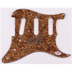 Mac Miller Signed Electric Guitar Pickguard (PSA LOA)