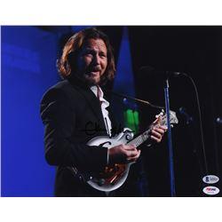 Eddie Vedder Signed 11x14 Photo (Beckett LOA)