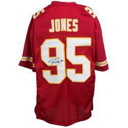 Chris Jones Signed Kansas City Chiefs Jersey (JSA COA)