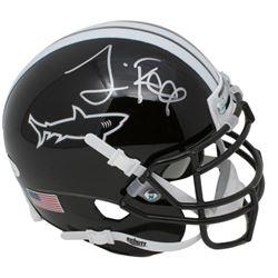 """Jamie Foxx Signed Miami Sharks """"Any Given Sunday"""" Mini Helmet (JSA COA)"""