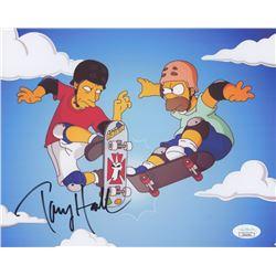 "Tony Hawk Signed ""The Simpsons"" 8x10 Photo (JSA COA)"
