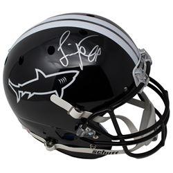 """Jamie Foxx Signed """"Any Given Sunday""""Miami Sharks Full-Size Helmet (JSA COA)"""