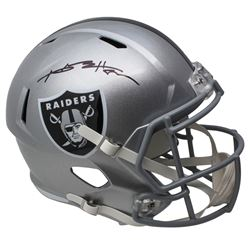 Antonio Brown Signed Oakland Raiders Full-Size Speed Helmet (JSA COA)
