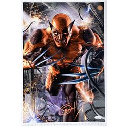 "Greg Horn Signed Marvel ""Wolverine"" 13x19 Lithograph (JSA COA)"