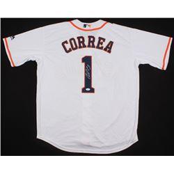 Carlos Correa Signed Houston Astros Jersey (JSA COA)