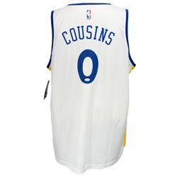 DeMarcus Cousins Signed Fanatics Golden State Warriors Jersey (JSA COA)