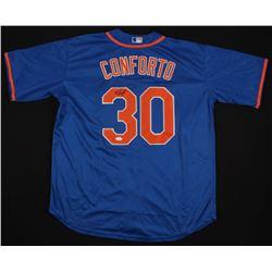 Michael Conforto Signed New York Mets Jersey (JSA COA)