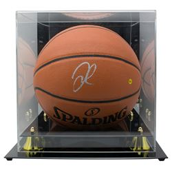 DeMarcus Cousins Signed NBA Game Ball Series Basketball with Display Case (JSA COA)