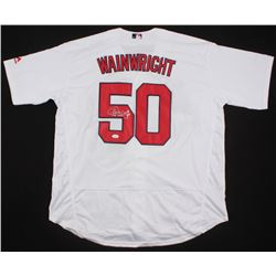 "Adam Wainwright Signed St. Louis Cardinals Jersey Inscribed ""06 WSC"" (JSA COA)"