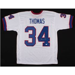 Thurman Thomas Signed Buffalo Bills Jersey (JSA COA)