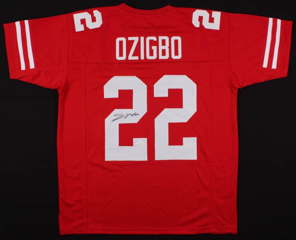 new product 20254 05c68 Devine Ozigbo Signed Nebraska Cornhuskers Jersey (JSA ...