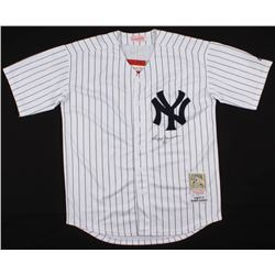 Reggie Jackson Signed New York Yankees Jersey (Beckett COA)