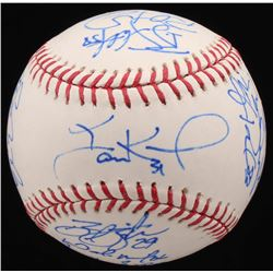 2012-13 Arizona Diamondbacks OML Baseball Team-Signed by (17) with Paul Goldschmidt, A.J. Pollock, I