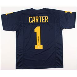 Anthony Carter Signed Michigan Wolverines Jersey (JSA COA)